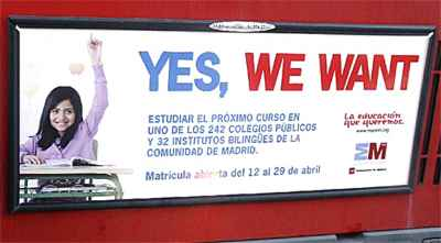 Yes We Want poster